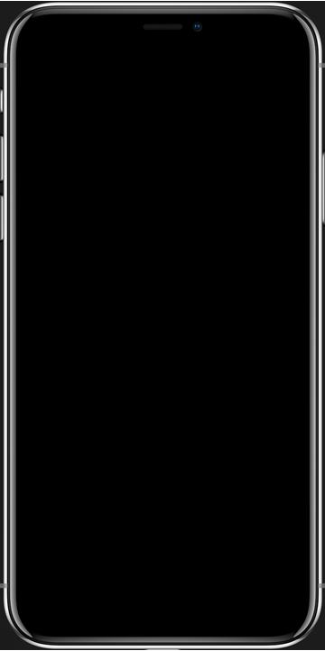 iphone x deki görünümü